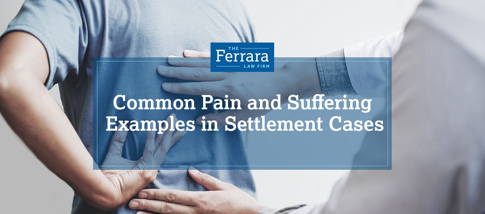 Pain and Suffering Settlement Examples | Personal Injury