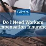 Man with a broken arm filing a workers compensation form.