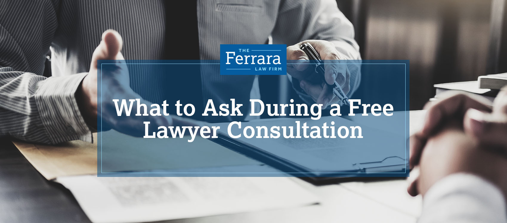 Conversation during a lawyer consultation.